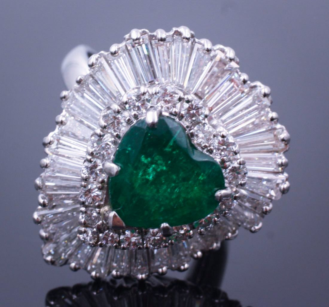 2.6_Carat_Emerald_Diamond_Ballerina_Ring_Pendant